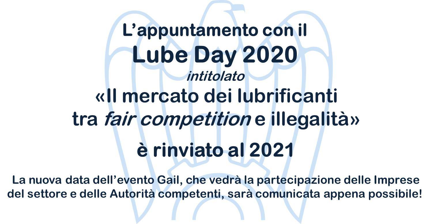 lube day rinvio